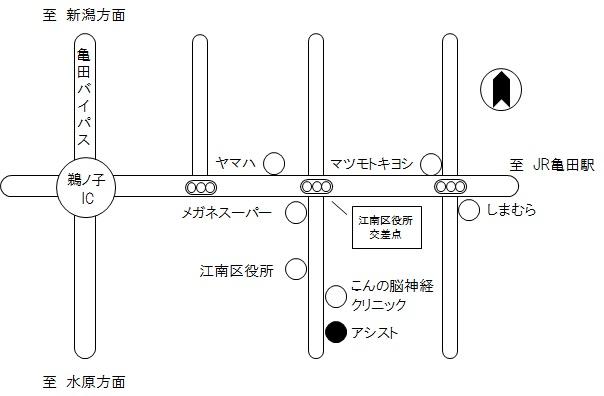 アシスト地図